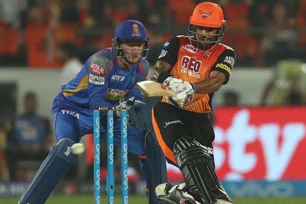 IPL-11: Hyderabad beat Rajasthan by nine wickets - Cricket News in Hindi